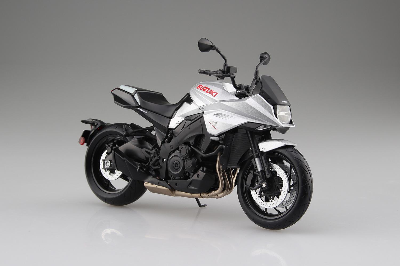 スズキ『SUZUKI GSX-S1000S KATANA メタリックミスティックシルバー』ミニカー-001