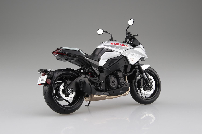 スズキ『SUZUKI GSX-S1000S KATANA メタリックミスティックシルバー』ミニカー-004