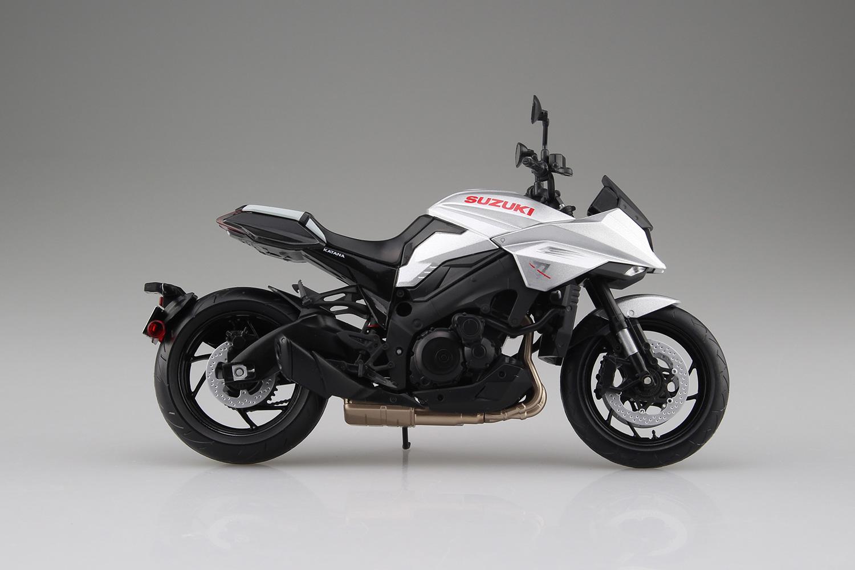 スズキ『SUZUKI GSX-S1000S KATANA メタリックミスティックシルバー』ミニカー-005