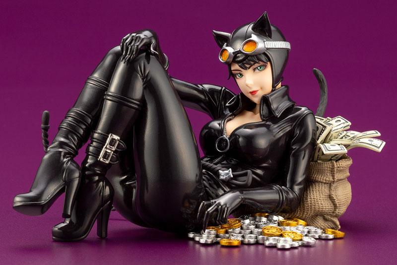 DC COMICS美少女『キャットウーマン リターンズ』バットマン 1/7 完成品フィギュア-001