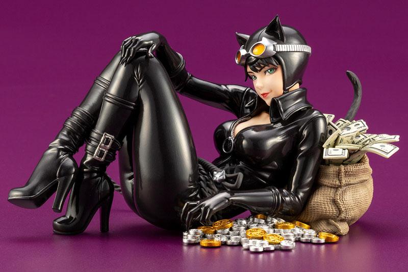DC COMICS美少女『キャットウーマン リターンズ』バットマン 1/7 完成品フィギュア-002