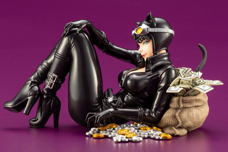 DC COMICS美少女『キャットウーマン リターンズ』バットマン 1/7 完成品フィギュア-003