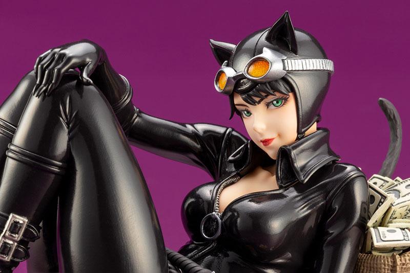 DC COMICS美少女『キャットウーマン リターンズ』バットマン 1/7 完成品フィギュア-007