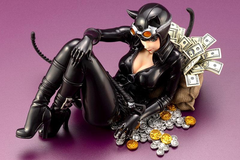 DC COMICS美少女『キャットウーマン リターンズ』バットマン 1/7 完成品フィギュア-008