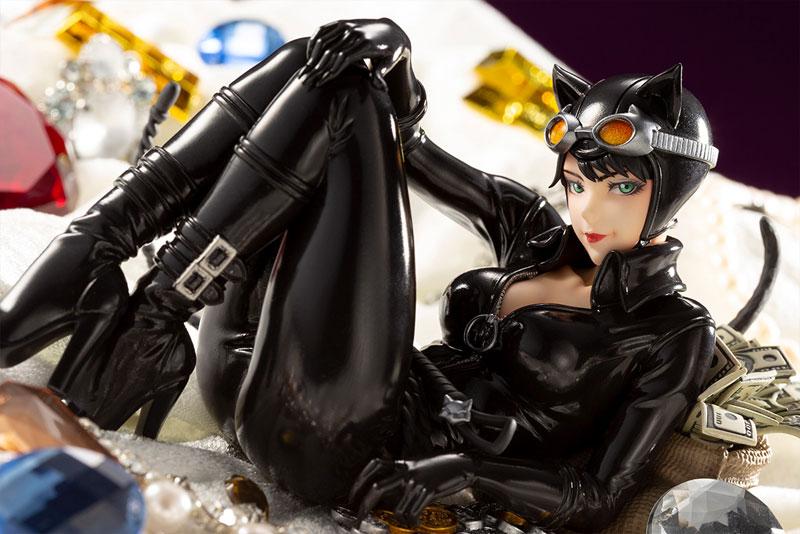 DC COMICS美少女『キャットウーマン リターンズ』バットマン 1/7 完成品フィギュア-009