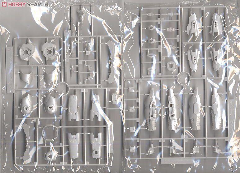 【再販】アーマード・コア V.I.シリーズ『ホワイト・グリント&V.O.Bセット ムービーカラーVer.』1/72 プラモデル-013