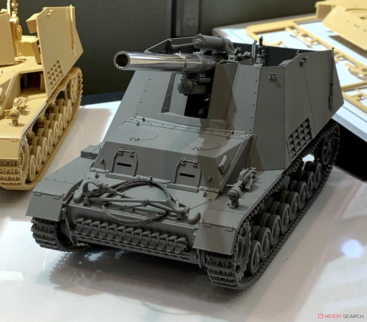 1/35 ミリタリーミニチュアシリーズ No.367『ドイツ重自走榴弾砲 フンメル 後期型』プラモデル-008