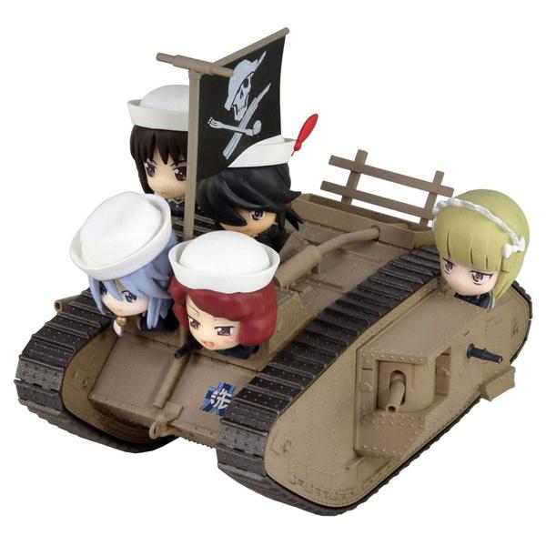 ぺあどっと キャラクターシリーズ『Mk.IV戦車 エンディングVer.』ガールズ&パンツァー 最終章 完成品フィギュア