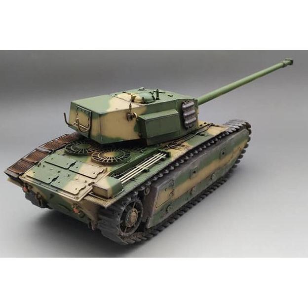 1/35『フランス重戦車 ARL44』プラモデル-005