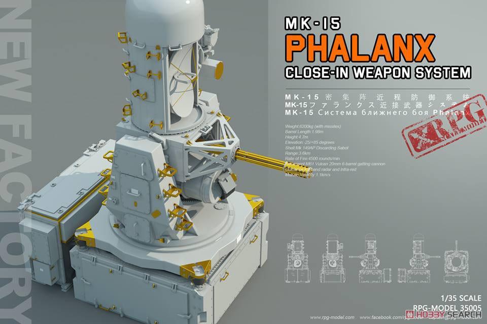 1/35『アメリカ海軍 MK-15 ファランクス』プラモデル-025