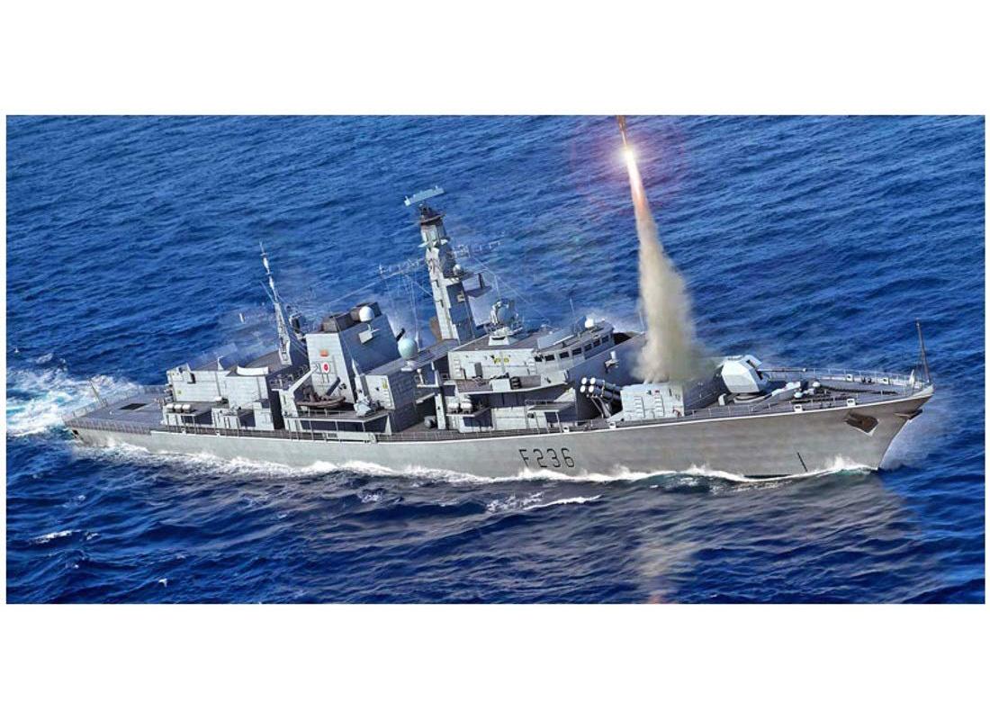 1/700『イギリス海軍 23型フリゲート HMS モントローズ(F236)』プラモデル-001