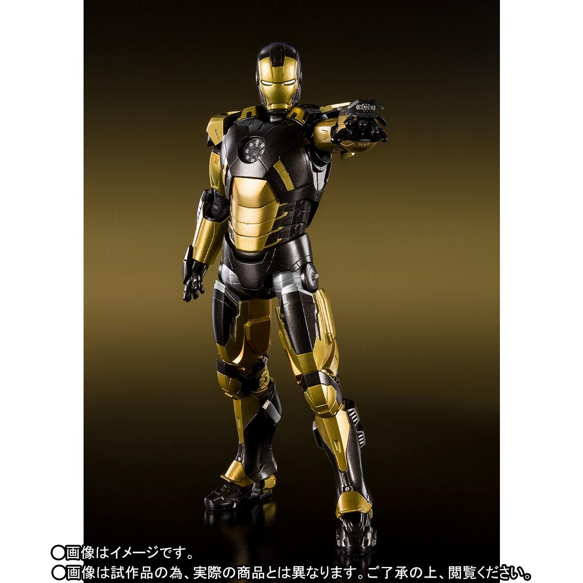 S.H.フィギュアーツ『アイアンマン マーク20 パイソン』アイアンマン3 可動フィギュア-003