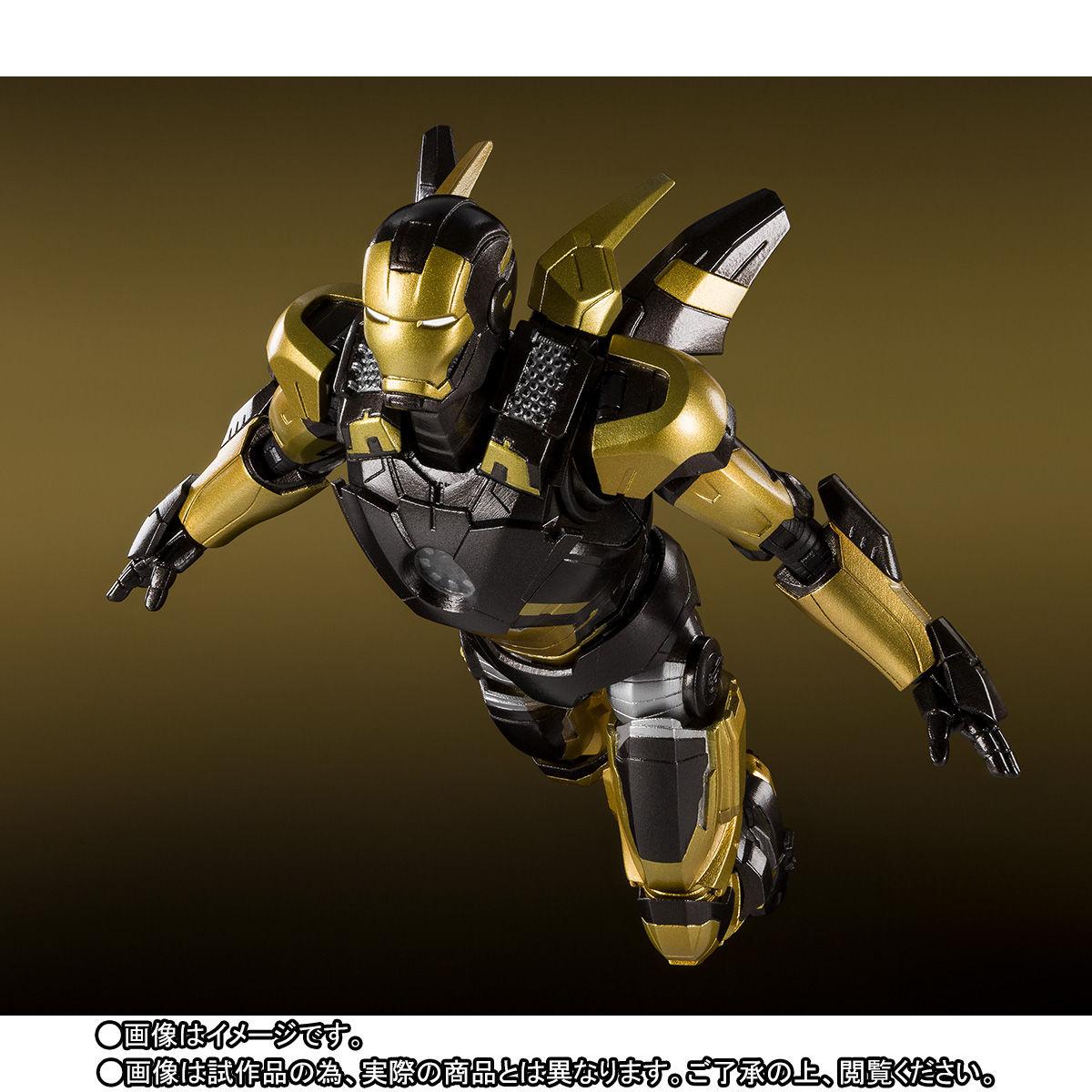 S.H.フィギュアーツ『アイアンマン マーク20 パイソン』アイアンマン3 可動フィギュア-005