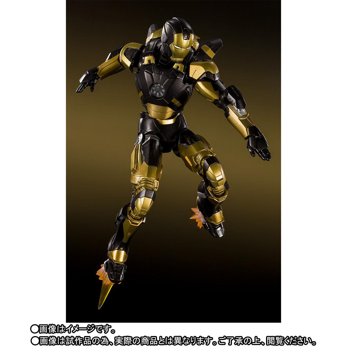 S.H.フィギュアーツ『アイアンマン マーク20 パイソン』アイアンマン3 可動フィギュア-006