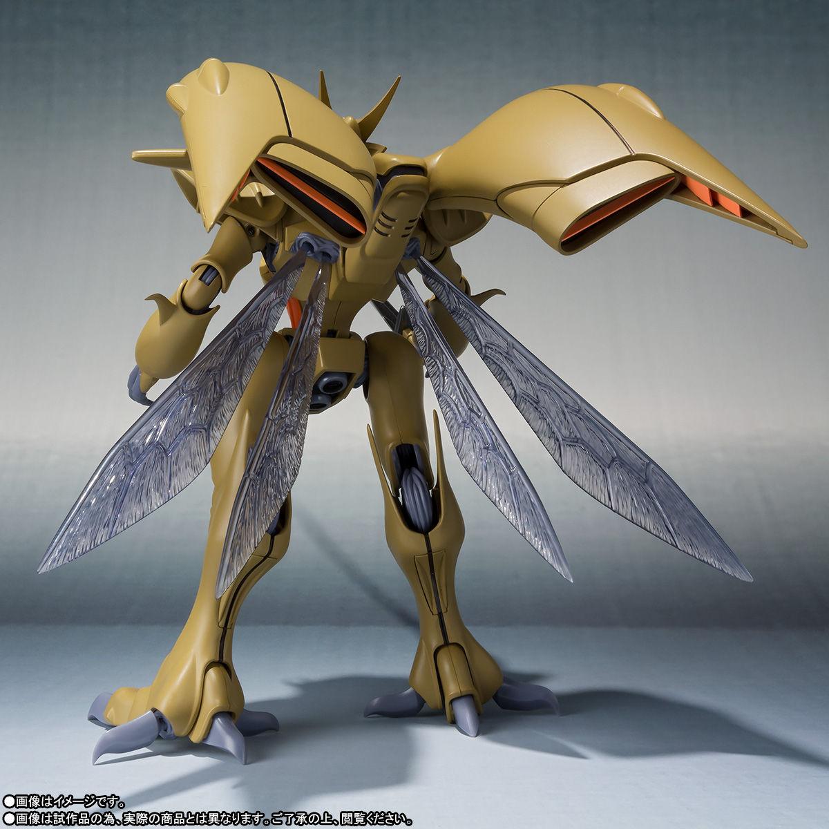 ROBOT魂〈SIDE AB〉『ボチューン(量産型)』聖戦士ダンバイン 可動フィギュア-003