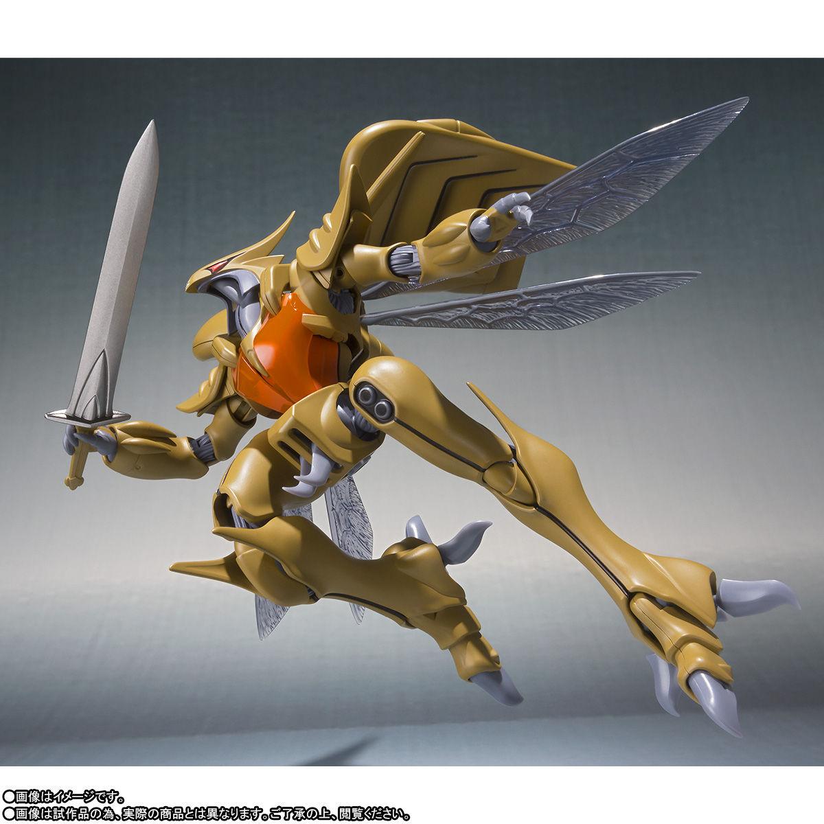 ROBOT魂〈SIDE AB〉『ボチューン(量産型)』聖戦士ダンバイン 可動フィギュア-004