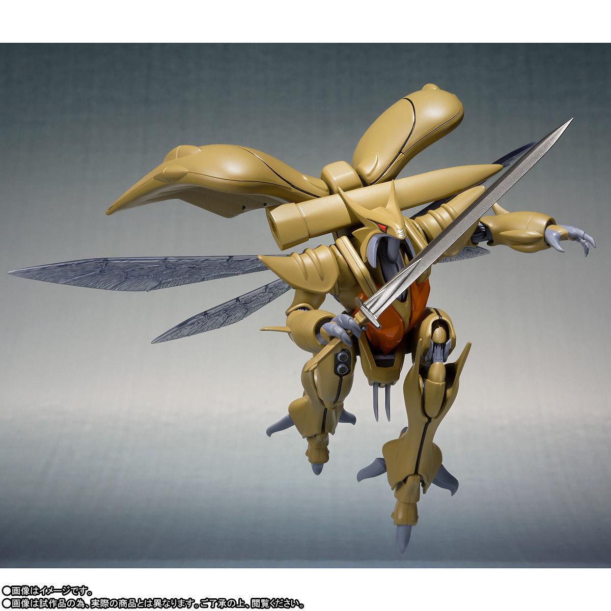 ROBOT魂〈SIDE AB〉『ボチューン(量産型)』聖戦士ダンバイン 可動フィギュア-005