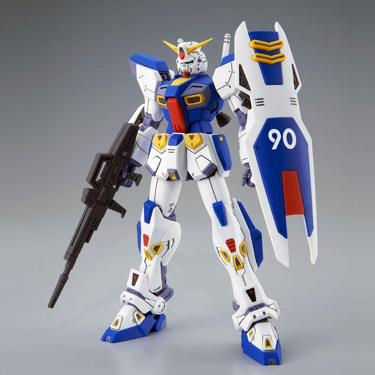 MG 1/100『ガンダムF90』プラモデル-002
