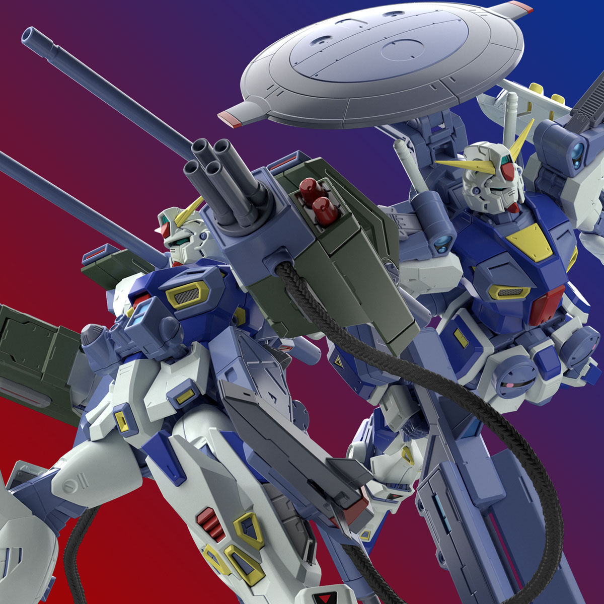 MG 1/100『ガンダムF90用 ミッションパック Eタイプ&Sタイプ』プラモデル-001