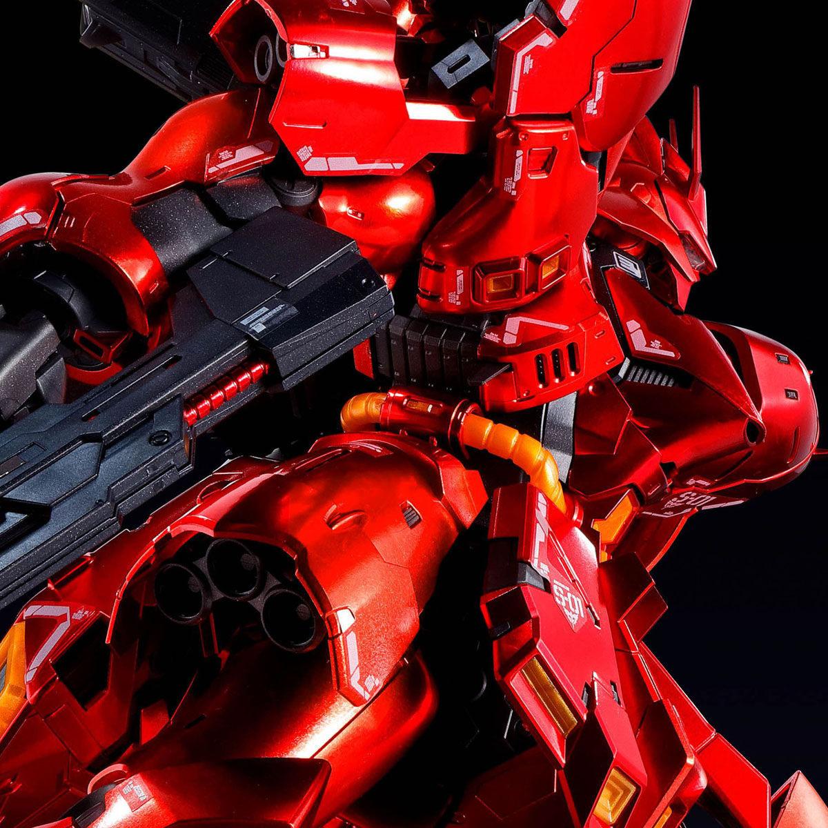 RG 1/144『サザビー[スペシャルコーティング]』機動戦士ガンダム 逆襲のシャア プラモデル-001