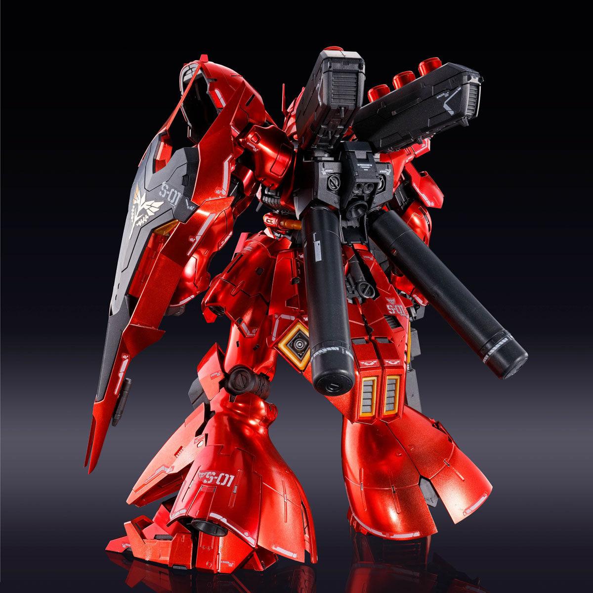 RG 1/144『サザビー[スペシャルコーティング]』機動戦士ガンダム 逆襲のシャア プラモデル-003