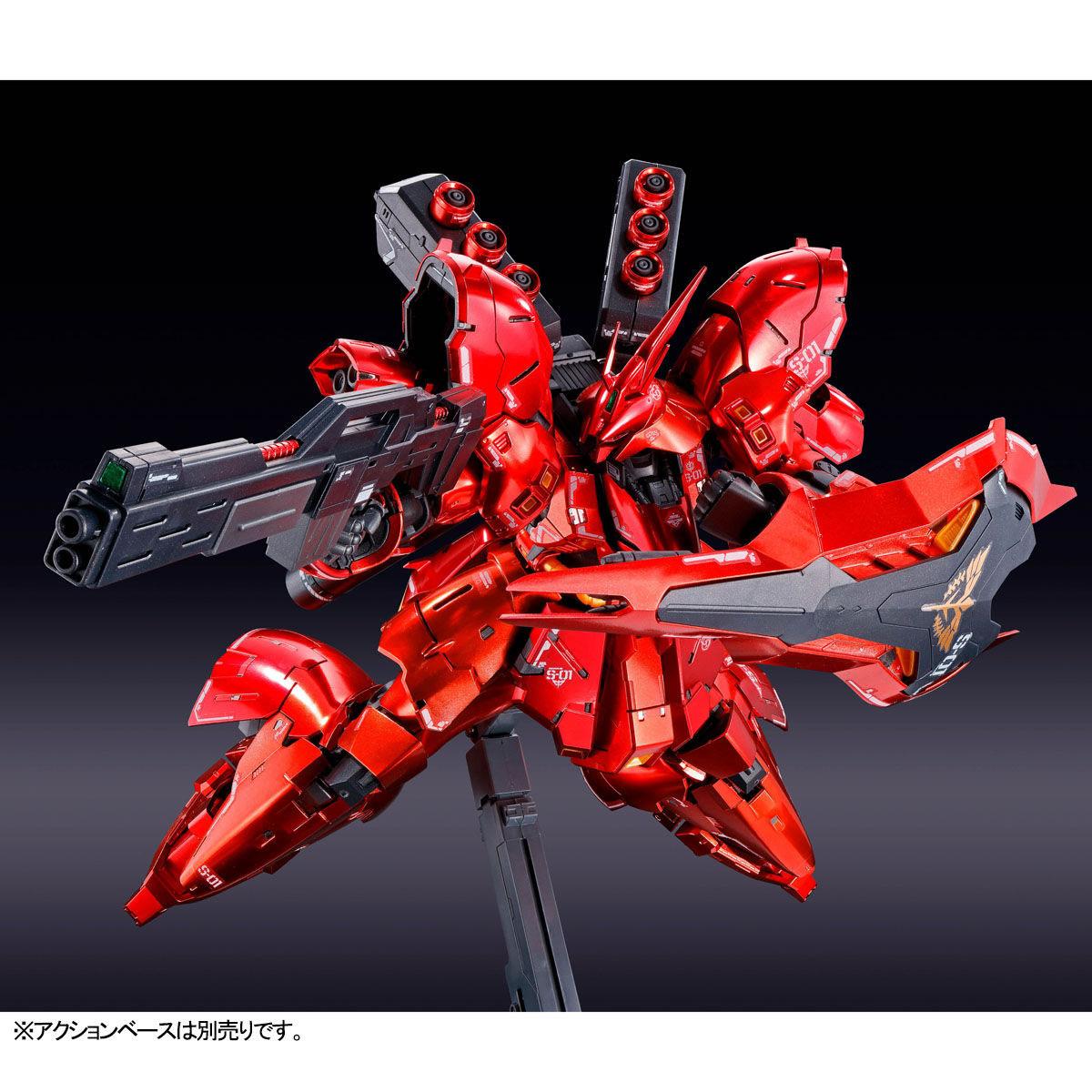 RG 1/144『サザビー[スペシャルコーティング]』機動戦士ガンダム 逆襲のシャア プラモデル-004