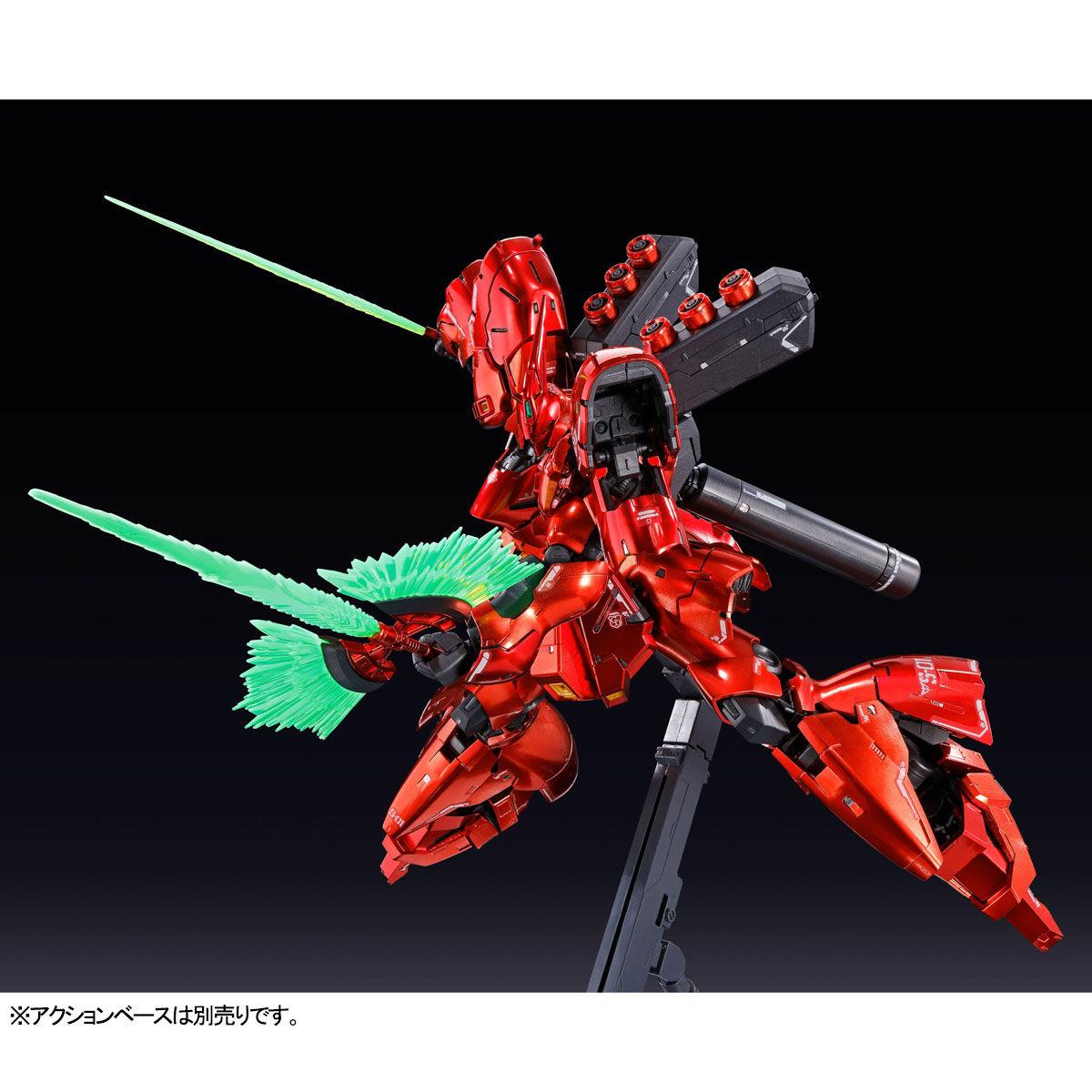 RG 1/144『サザビー[スペシャルコーティング]』機動戦士ガンダム 逆襲のシャア プラモデル-005