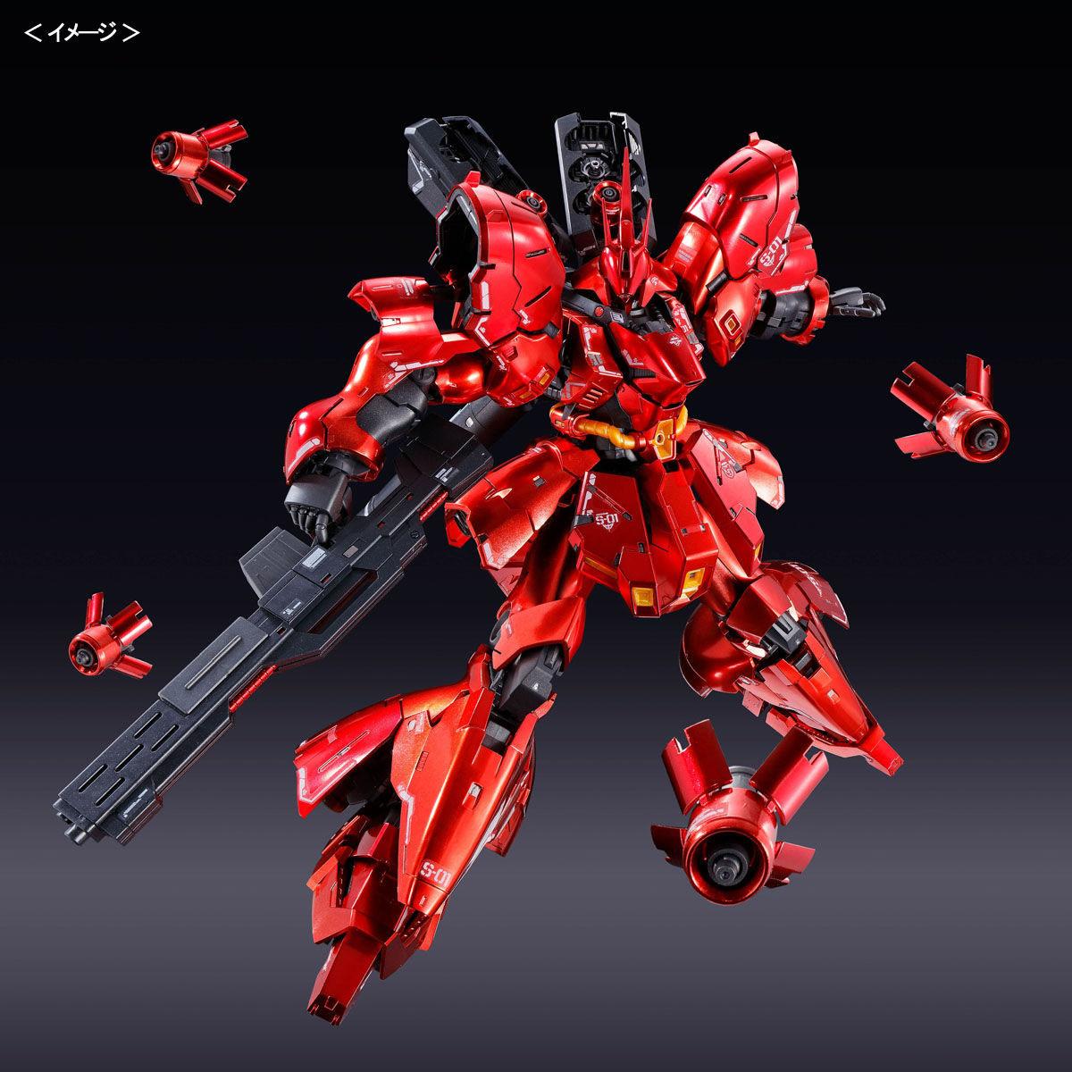 RG 1/144『サザビー[スペシャルコーティング]』機動戦士ガンダム 逆襲のシャア プラモデル-006