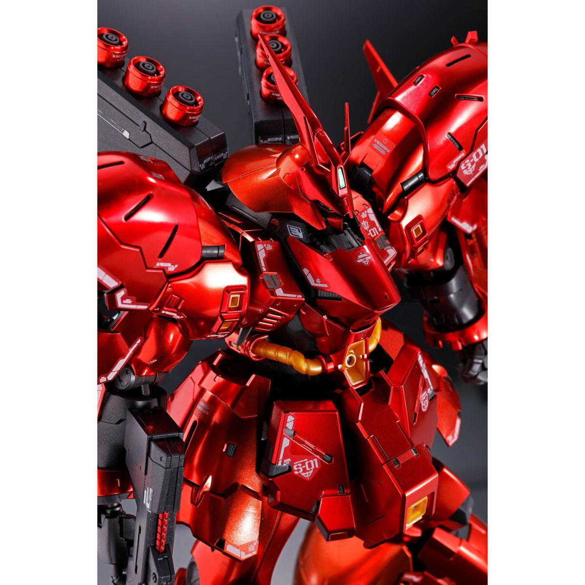 RG 1/144『サザビー[スペシャルコーティング]』機動戦士ガンダム 逆襲のシャア プラモデル-009