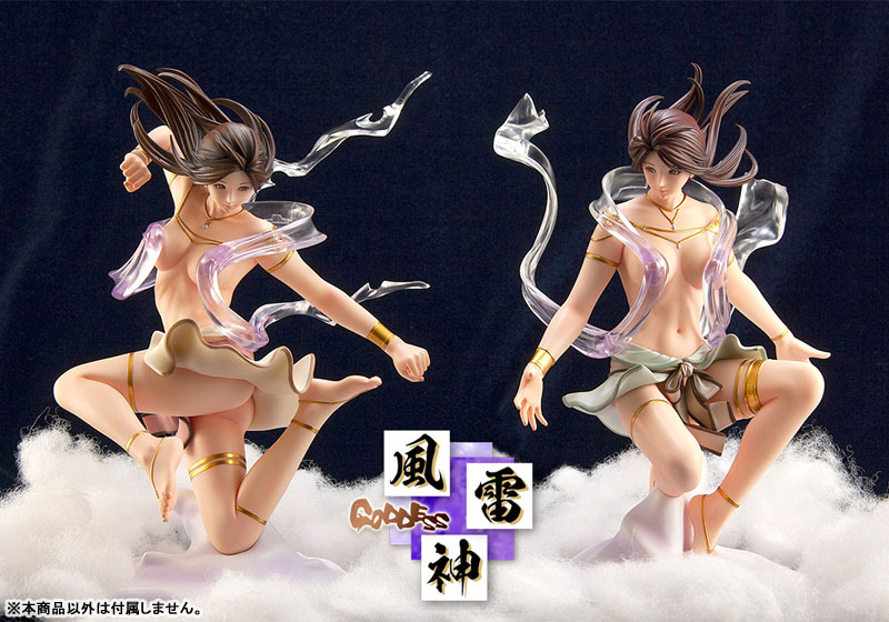 KEIKO's Beauty Line collection Goddess No.C632『風雷神 風』1/7 完成品フィギュア-008