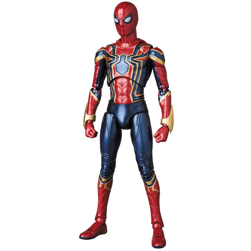 【再販】マフェックス No.081『MAFEX IRON SPIDER』アベンジャーズ/インフィニティ・ウォー 可動フィギュア-002
