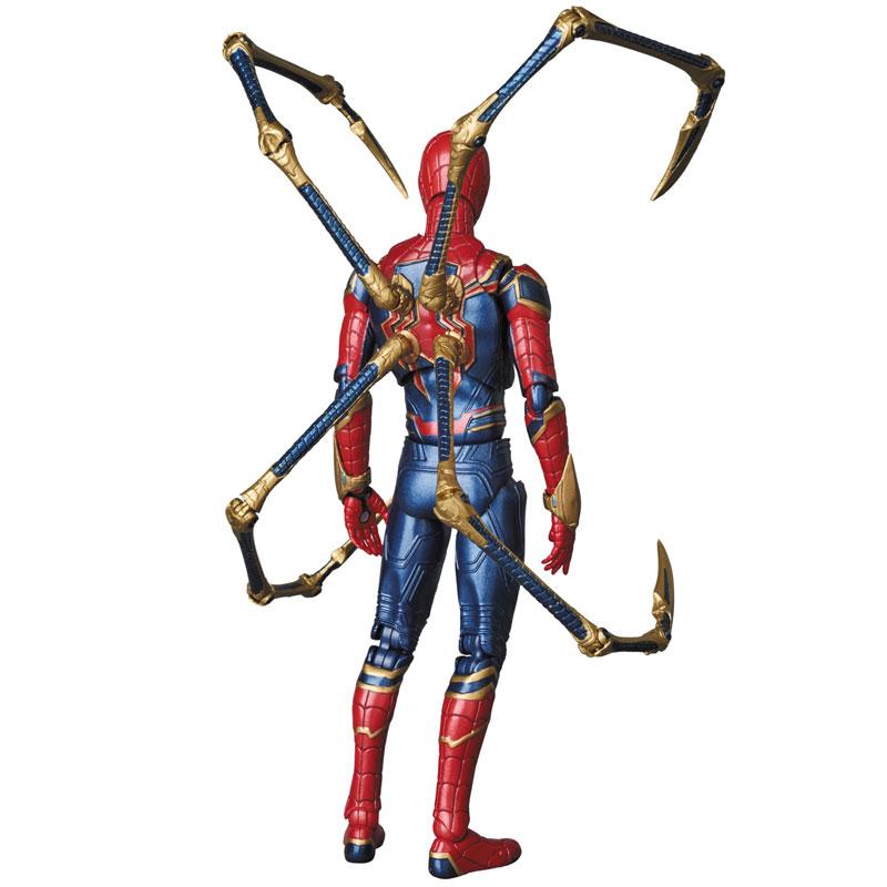 【再販】マフェックス No.081『MAFEX IRON SPIDER』アベンジャーズ/インフィニティ・ウォー 可動フィギュア-005