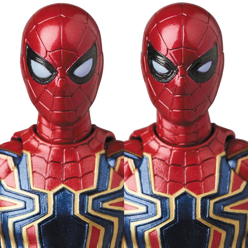【再販】マフェックス No.081『MAFEX IRON SPIDER』アベンジャーズ/インフィニティ・ウォー 可動フィギュア-006