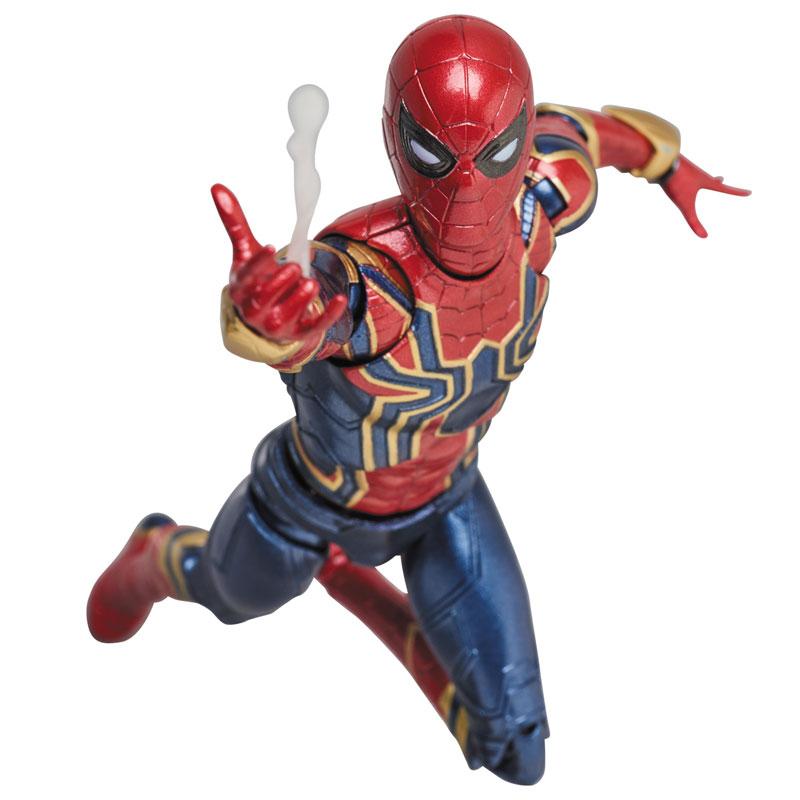 【再販】マフェックス No.081『MAFEX IRON SPIDER』アベンジャーズ/インフィニティ・ウォー 可動フィギュア-009