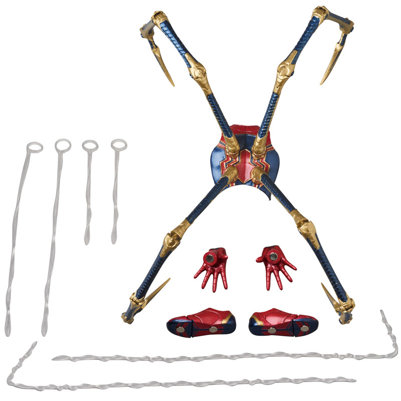 【再販】マフェックス No.081『MAFEX IRON SPIDER』アベンジャーズ/インフィニティ・ウォー 可動フィギュア-010