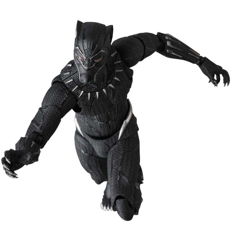 マフェックス No.091『BLACK PANTHER』ブラックパンサー 可動フィギュア-001