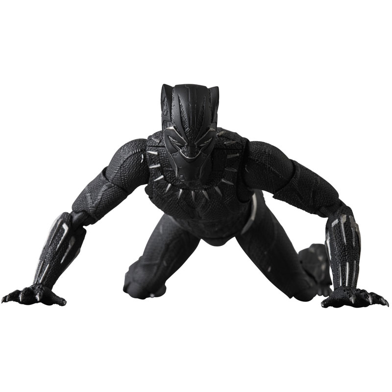 マフェックス No.091『BLACK PANTHER』ブラックパンサー 可動フィギュア-008