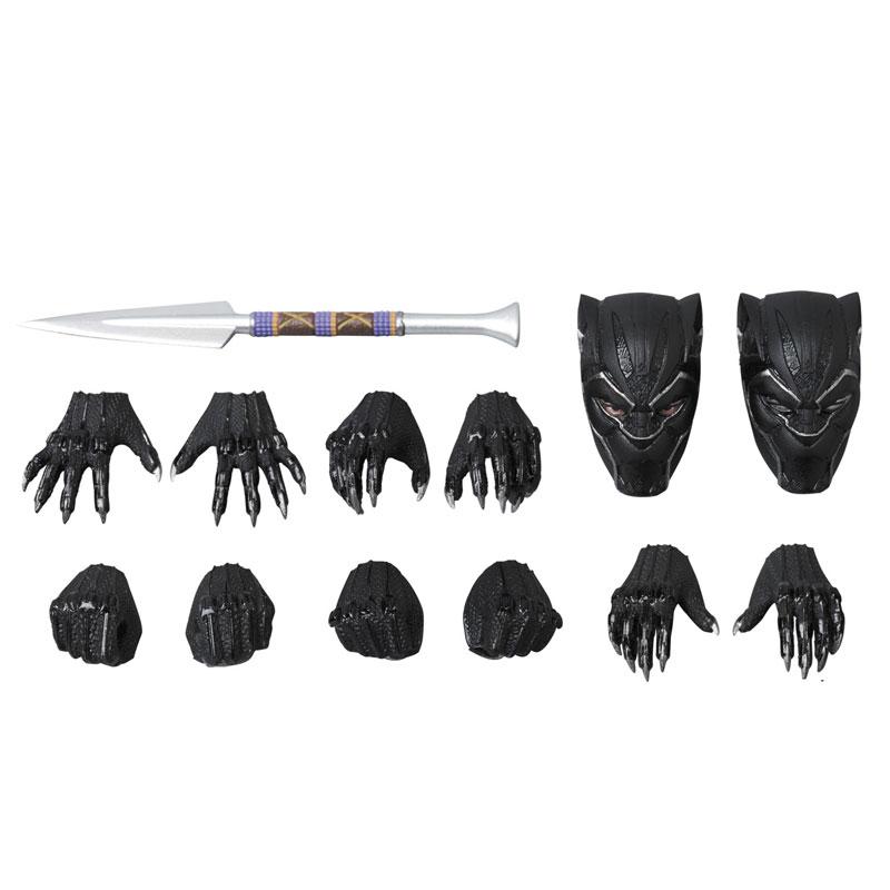 マフェックス No.091『BLACK PANTHER』ブラックパンサー 可動フィギュア-009