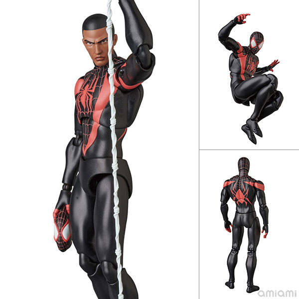 マフェックス No.092『MAFEX SPIDER-MAN(Miles Morales/マイルス・モラレス)』スパイダーマン 可動フィギュア