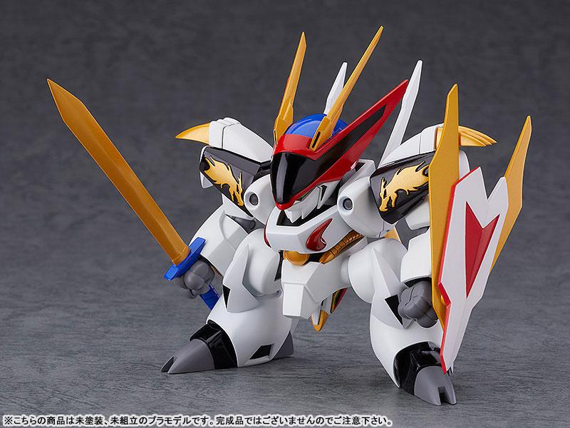 PLAMAX MS-05『龍王丸』魔神英雄伝ワタル プラモデル-001