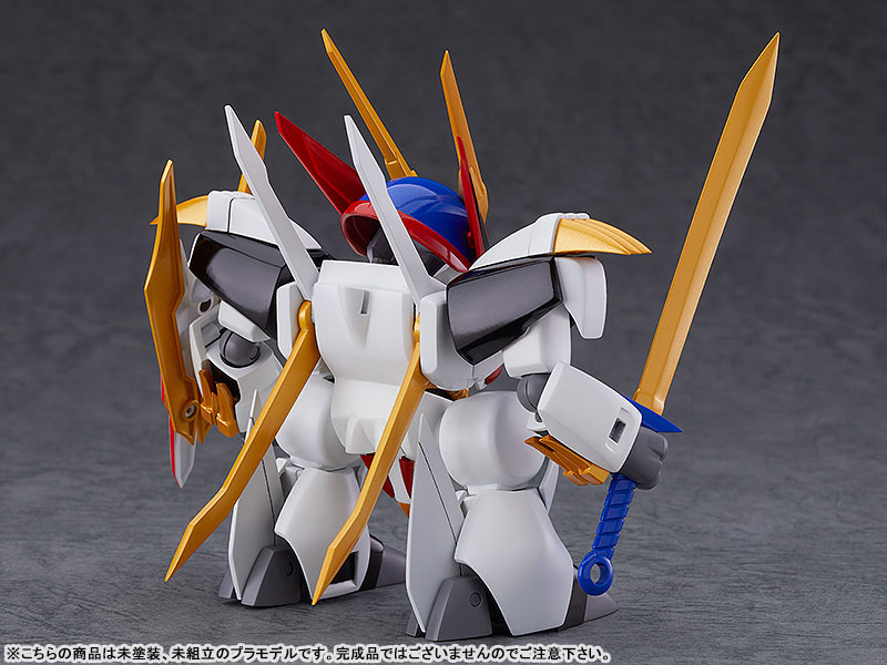 PLAMAX MS-05『龍王丸』魔神英雄伝ワタル プラモデル-002