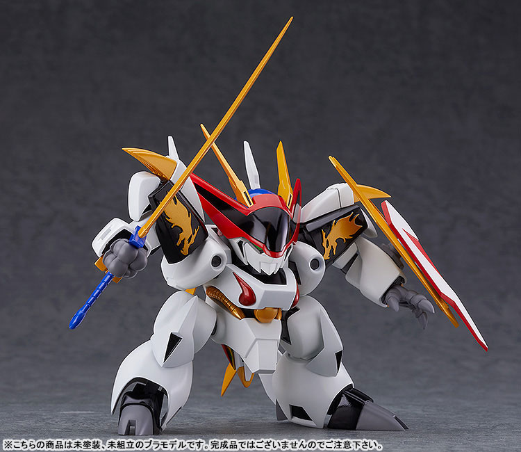 PLAMAX MS-05『龍王丸』魔神英雄伝ワタル プラモデル-003