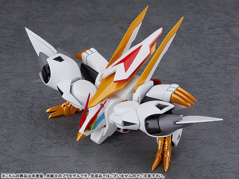 PLAMAX MS-05『龍王丸』魔神英雄伝ワタル プラモデル-004