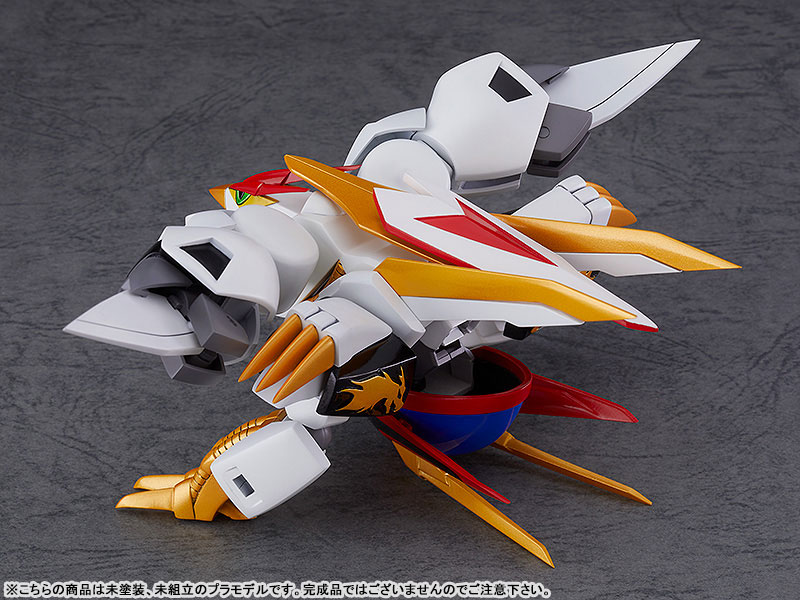 PLAMAX MS-05『龍王丸』魔神英雄伝ワタル プラモデル-005