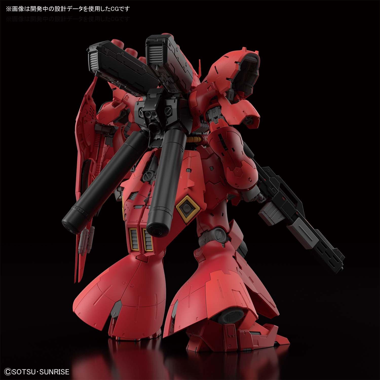 【再販】RG 1/144『サザビー』逆襲のシャア プラモデル-003