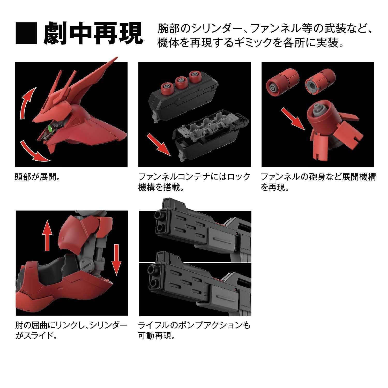 【再販】RG 1/144『サザビー』逆襲のシャア プラモデル-007