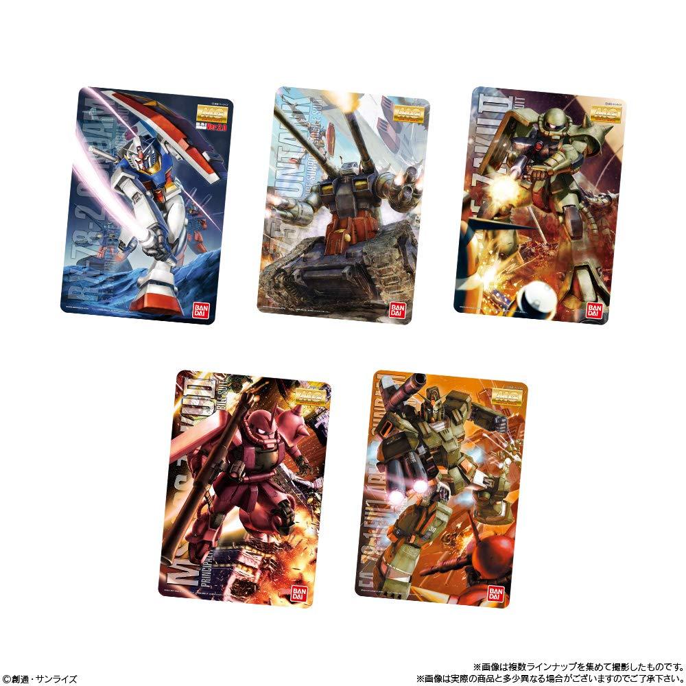【再販】【食玩】『GUNDAMガンプラ パッケージアートコレクション チョコウエハース』20個入りBOX-004