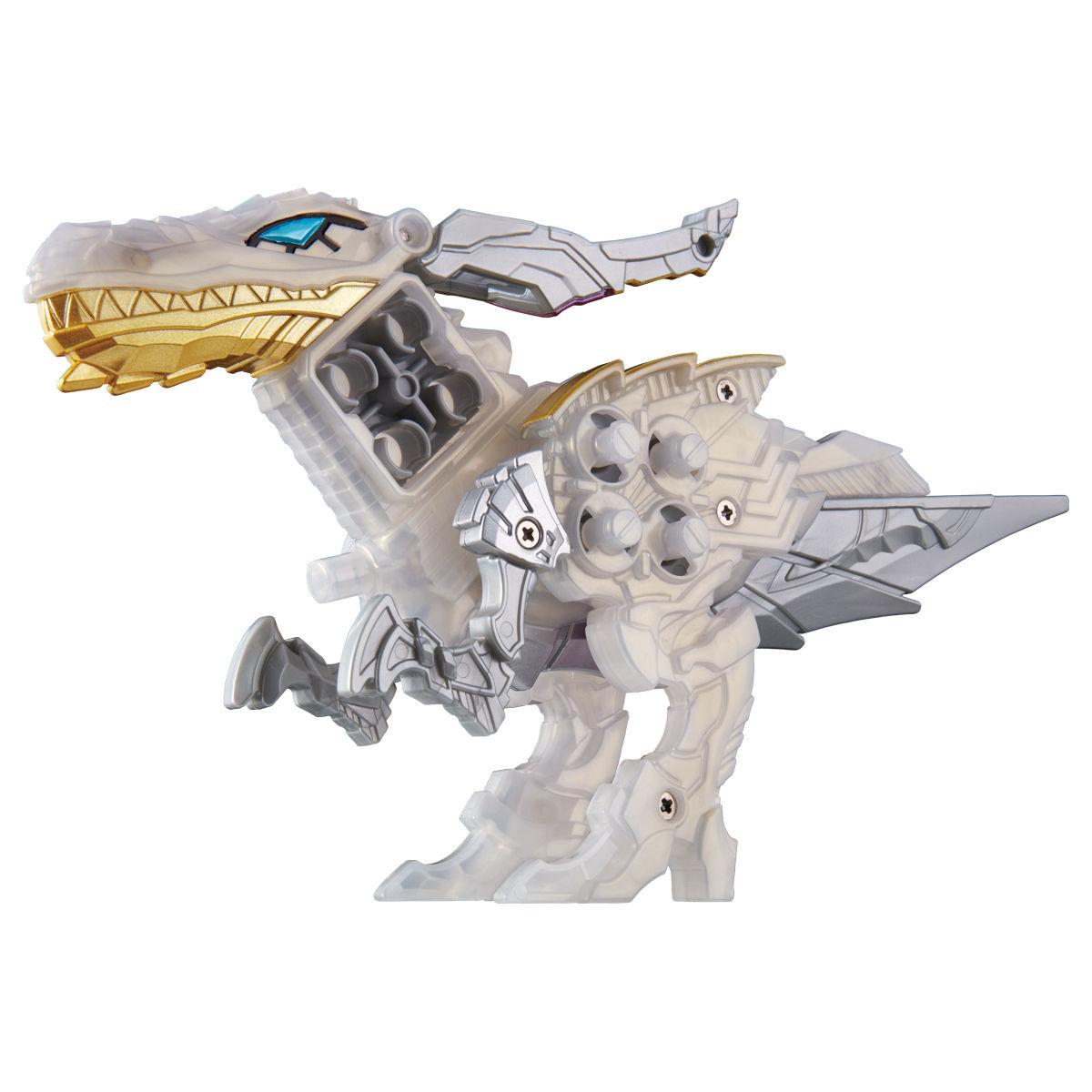 騎士竜戦隊リュウソウジャー『騎士竜シリーズ08&09 DXシャインラプター&シャドーラプターセット』可変可動フィギュア-003