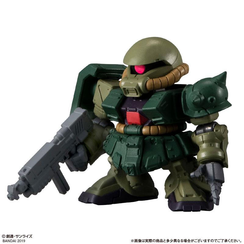 機動戦士ガンダム『ガシャポン戦士フォルテ10』12個入りBOX-002