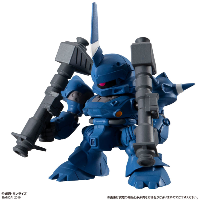 機動戦士ガンダム『ガシャポン戦士フォルテ10』12個入りBOX-005